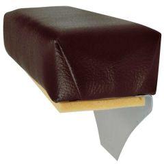 Universal Dark Brown Vinyl Replacement Armrest