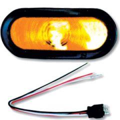 Oval Sealed Turn Signal Kit- Amber Light