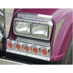 Freightliner Classic XL Fender Guards with Lights