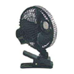 12 Volt Oscillating Fan with Metal Grill