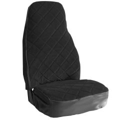 Black Velour National Seat Cover