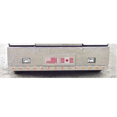 """Full Bumper Bar With 14 Round 2"""" LED Lights"""