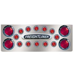 "SS FL Rear Center Panel w/Four 4"" & Twelve 2"" LED"