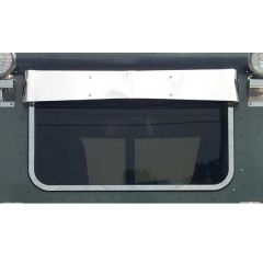 Peterbilt Rear Window Bow-Tie Visor