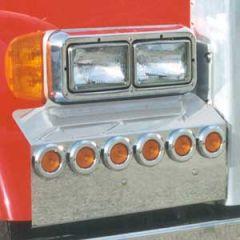 Peterbilt 379 Fender Guards With LED Lights