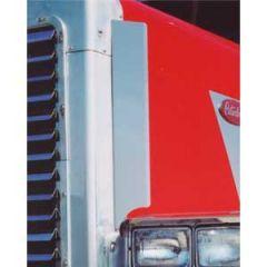 Peterbilt 379 Side Grill Air Deflectors