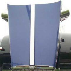 Kenworth Center Hood Trim W900L Curved Windshield