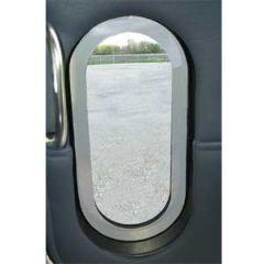 FREIGHTLINER CAB DOOR VIEW WINDOW TRIM PIECE