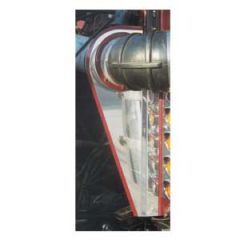 Peterbilt 359 Stainless Steel Air Intake Trim (PR)