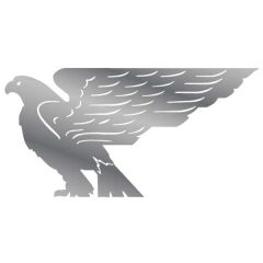 American Bald Eagle Stainless Steel Cut Outs (PR)