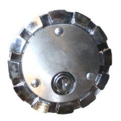 3.5-inch Kenworth Chrome Locking Fuel Cap