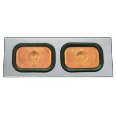 """16"""" Universal Channel with 2 Rectangular Lights"""