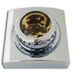 Chrome Plastic Swivel Map Light Cover