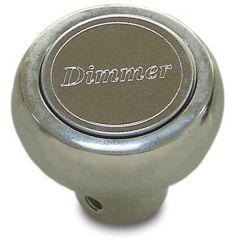 Chrome Aluminum Dimmer Dash Knob