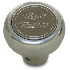Chrome Aluminum Wiper/Washer Dash Knob