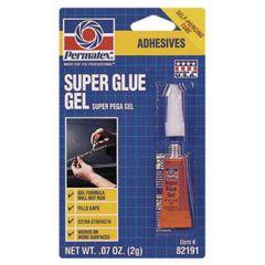 Permatex Super Glue Gel, 5-Gram Tube