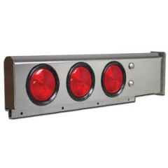 Spring Loaded Light Bar with Round LED Lights