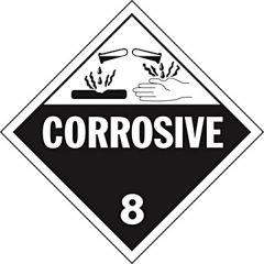 """Corrosive"" Placard"