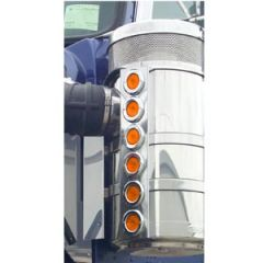 "KW 15"" Vortox Front Air Cleaner Lights - 12 Flat"