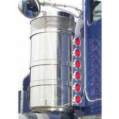 """KW 15"""" Vortox Rear Air Cleaner Lights - 12 Flat"""