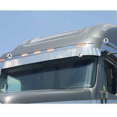 Freightliner Columbia, Century Visor Trim (2003-)