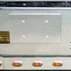 INTL 9900 Single Plate Holder and Tow Pin Cover