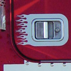 Freightliner Flames Door Handle Surround