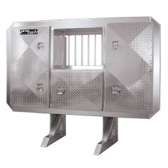 """68""""H x 80""""W Enclosed Cab Rack with Window"""