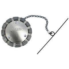 3-inch Aluminum Vented Fuel Cap for 3.5-inch neck