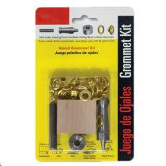 """0.5"""" Brass Grommet Kit 12PK"""