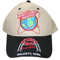 Iowa 80 World's Largest Truckstop Hat Khaki