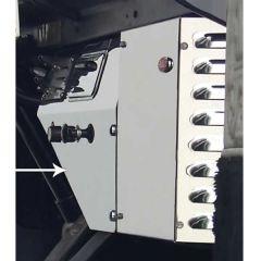 Peterbilt 359 Heater Control Trim Panel
