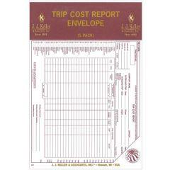 Trip Cost Report Envelopes (5 PK)