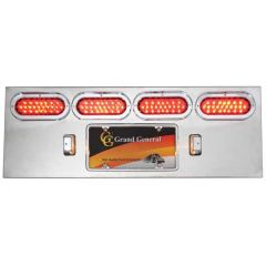 SS Rear Center Panel with Four Oval Pearl LED