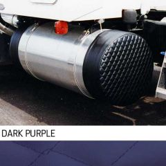 """23"""" Dark Purple Quilted Fuel Tank Covers"""
