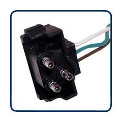 3 Prong Plug Wiring Harness with 8 Plugs