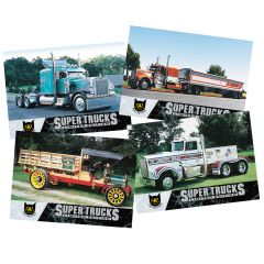Series 4 CAT Scale Super Trucks Card Set