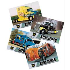 Series 5 CAT Scale Super Trucks Card Set