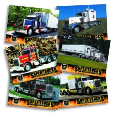 Series 6 CAT Scale Super Trucks Card Set